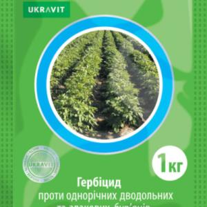 Высокоэффективный системный гербицид для бородьбы с однолетними злаковыми, двудольными сорняками на посывах с / х культур.